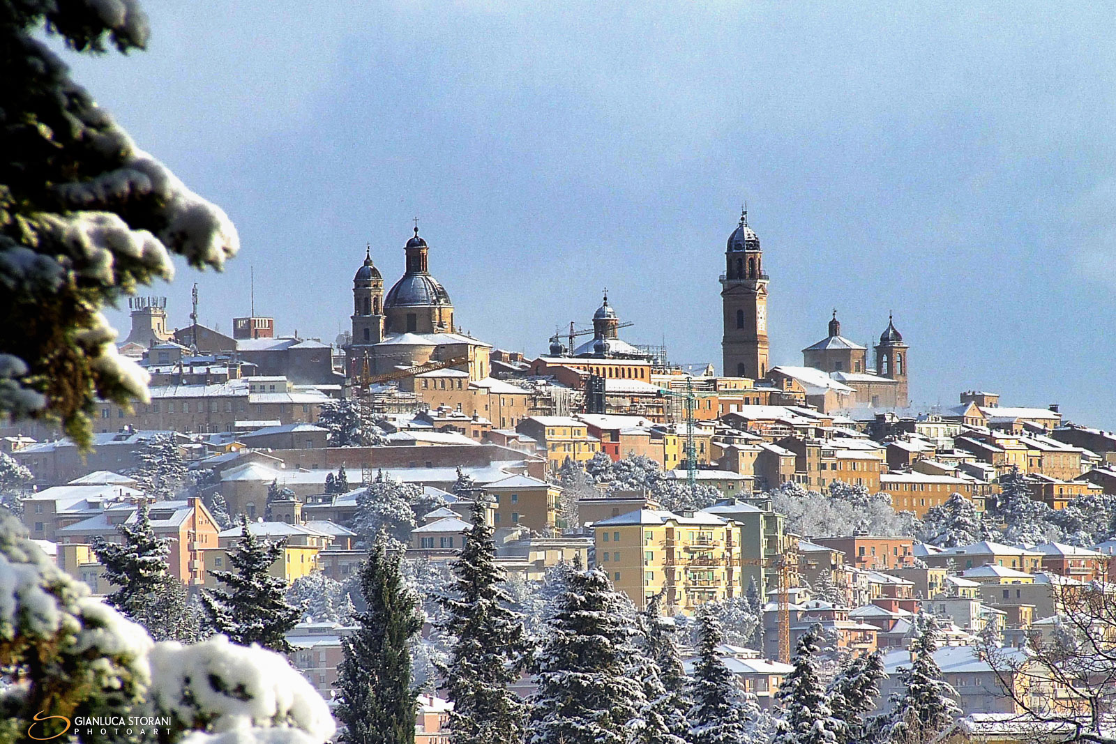 Macerata sotto la neve - Gianluca Storani Photo Art  (ID: 0-5585)