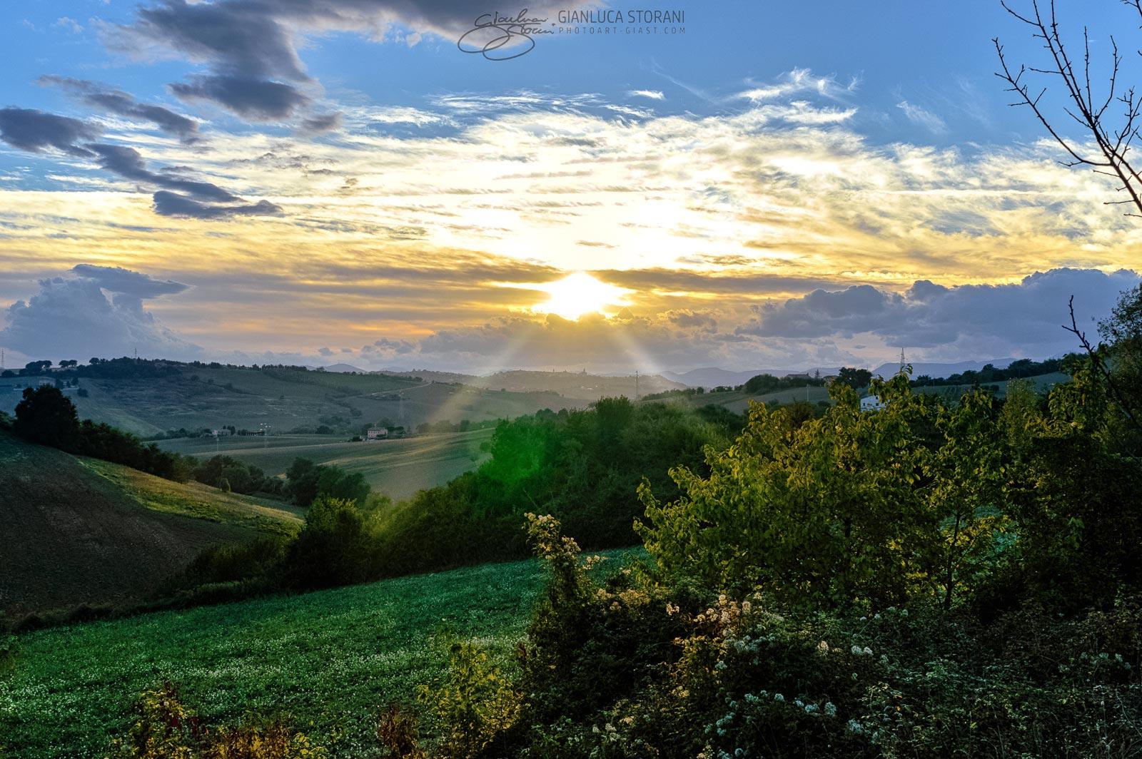 L'abbraccio del sole - Gianluca Storani Photo Art (ID: 1-7022)