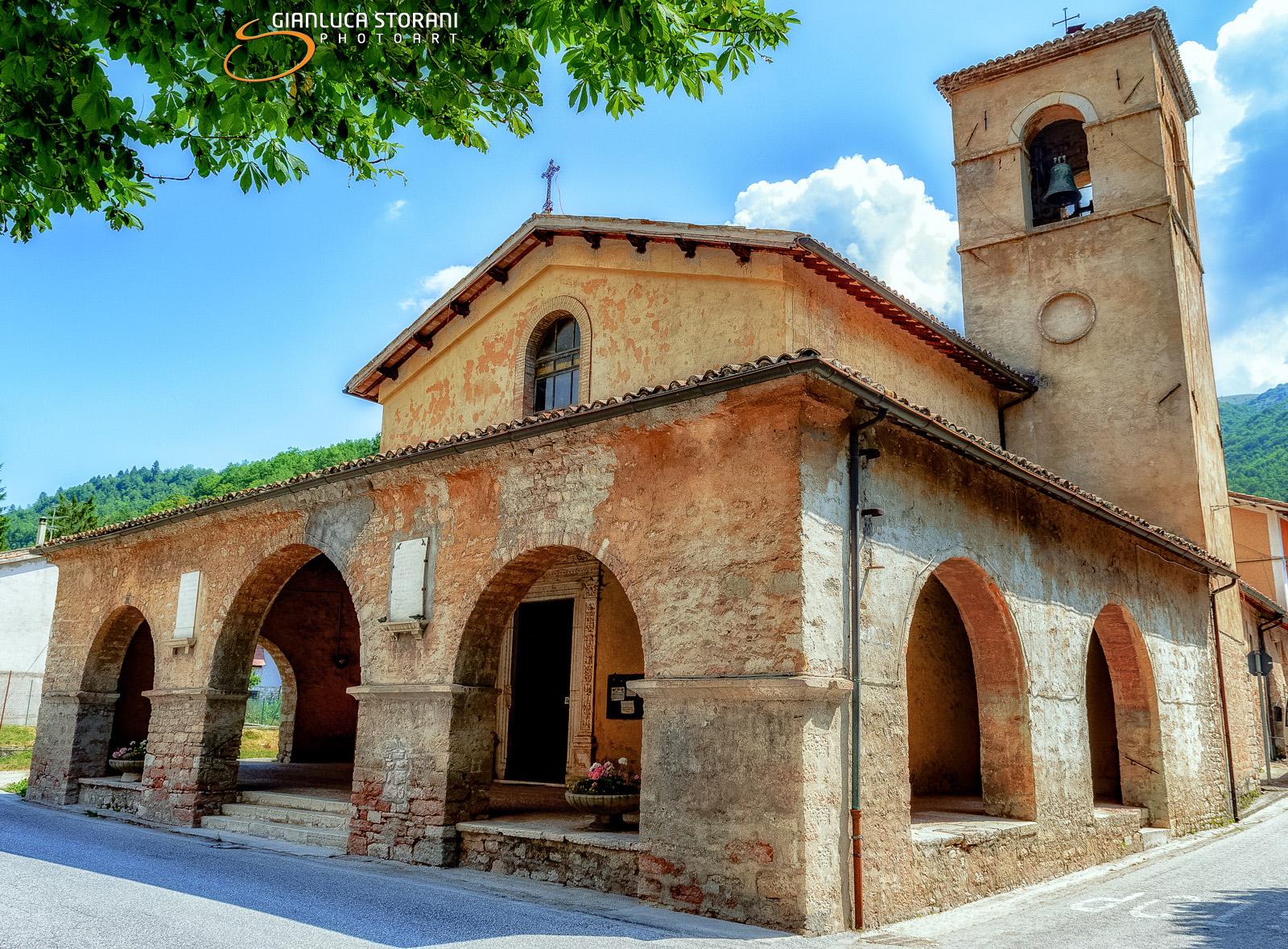 La chiesa di Villa Sant'Antonio di Visso (ID: 2-8479)