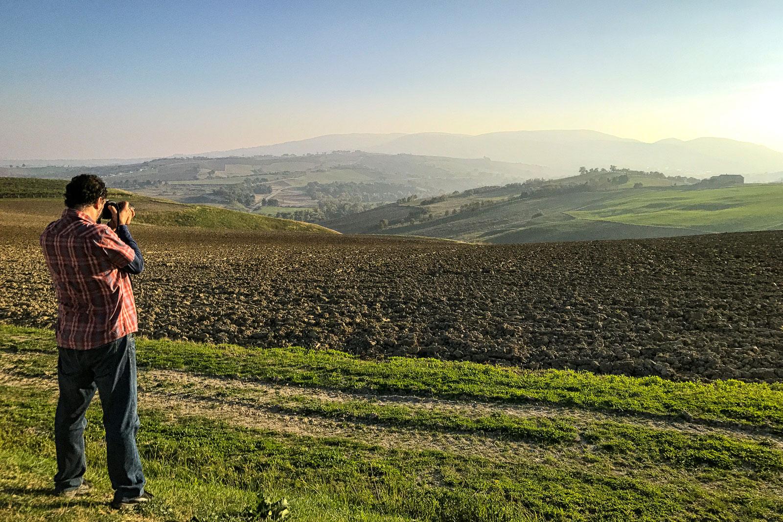 Dietro le quinte nei dintorni di Staffolo - Gianluca Storani Photo Art