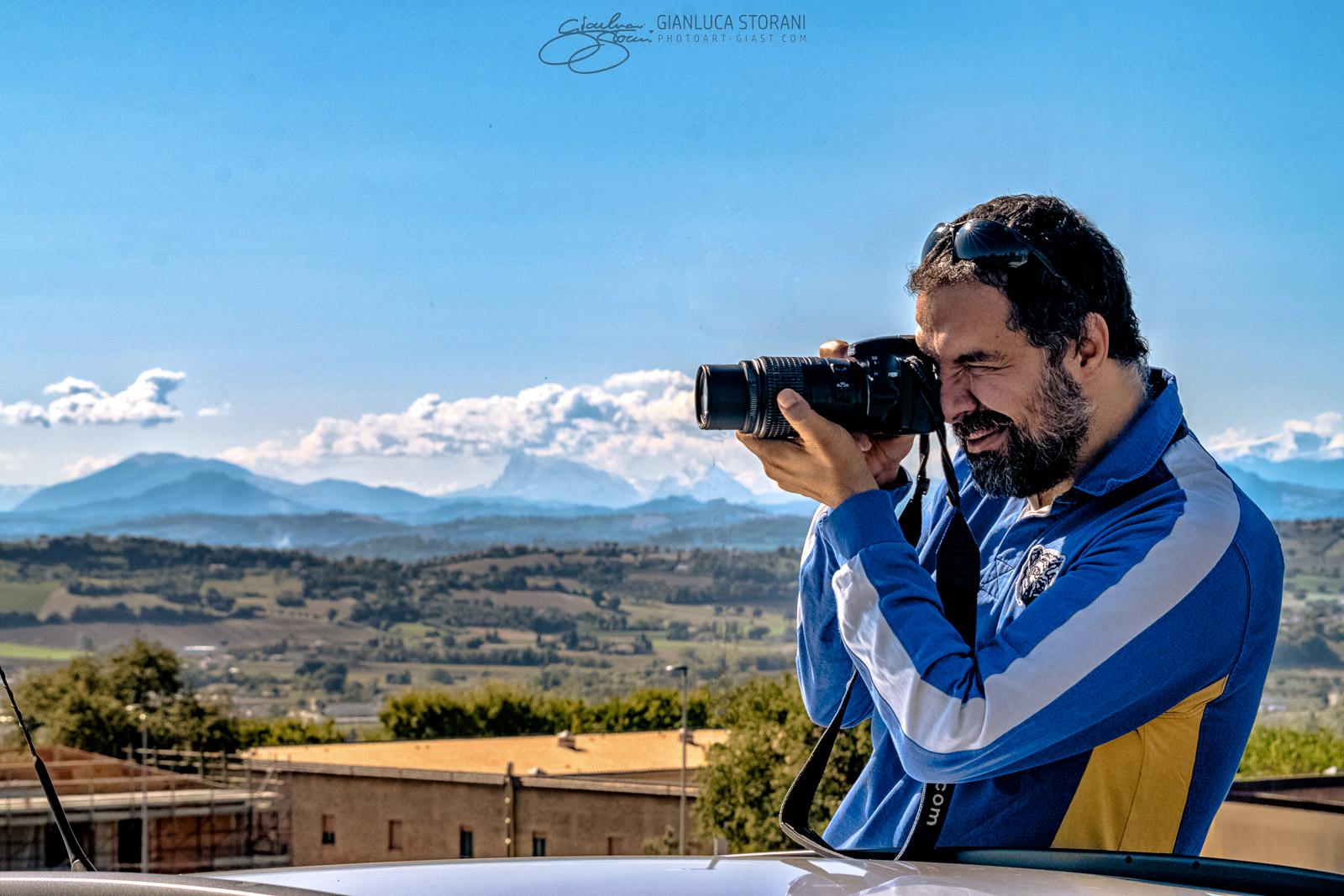 Sul predellino del mio Pandino - Gianluca Storani Photo Art