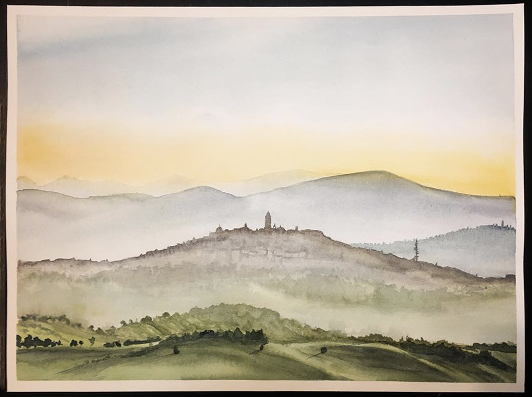 Lisquarelle - Acquarello di Macerata
