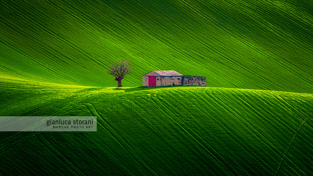 Solitary Shed - Gianluca Storani Photo Art (ID: 4-9837)
