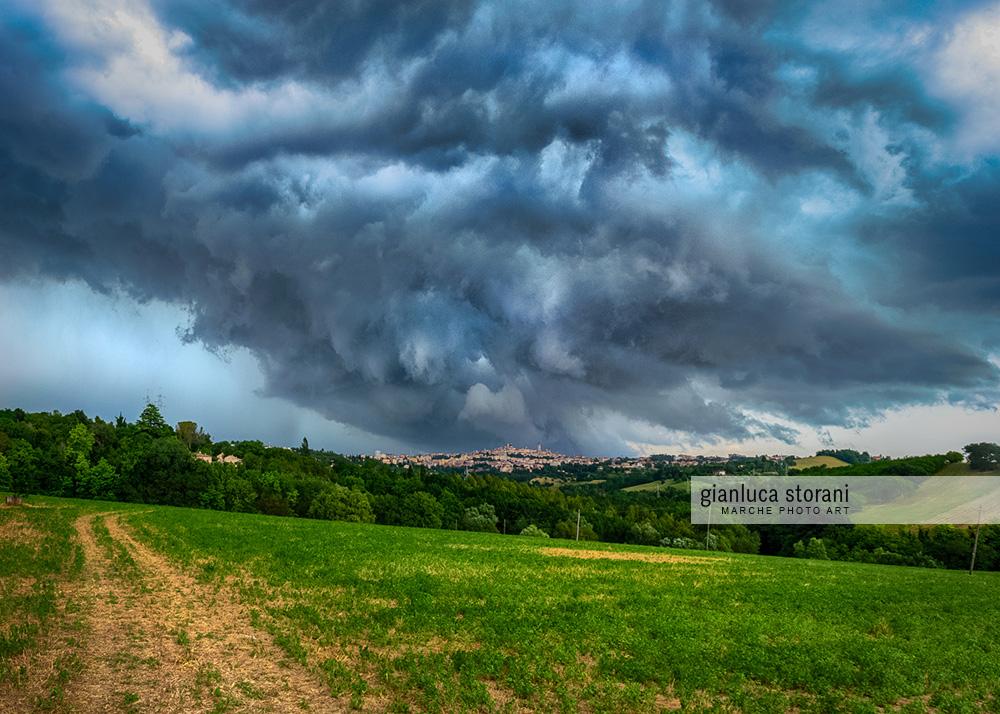 Macerata sotto attacco - Gianluca Storani Photo Art (5-2018)