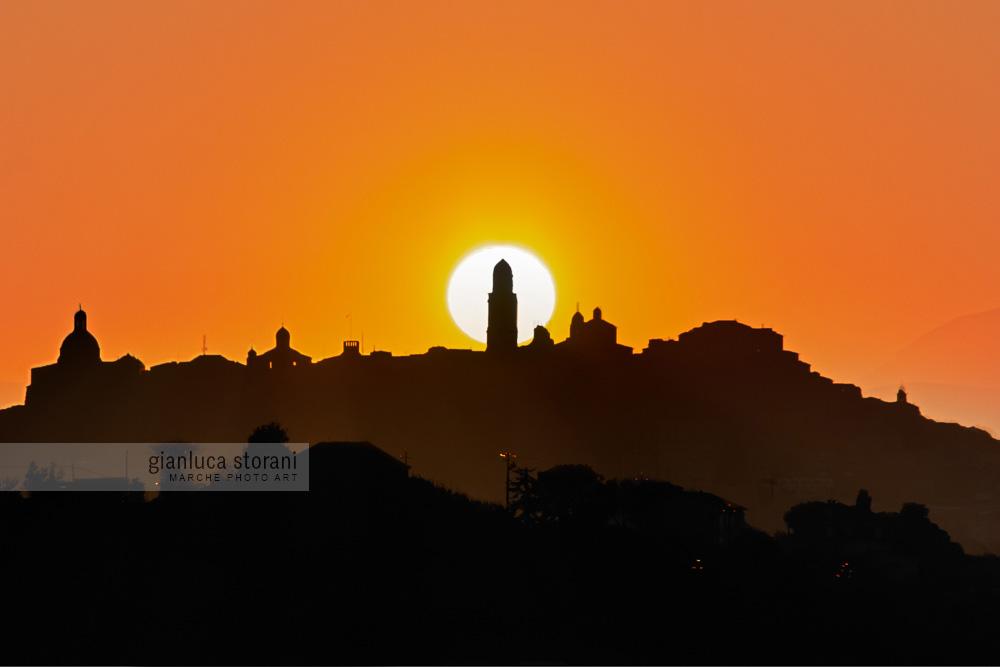 La torre nel sole - Gianluca Storani Photo Art (ID: 6-1177)