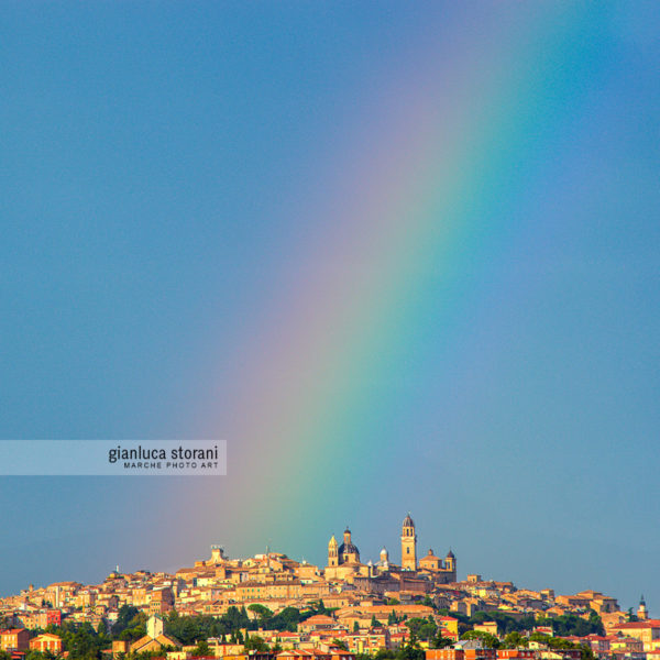 Macerata Rainbow - Gianluca Storani Photo Art (ID: 5-4620)