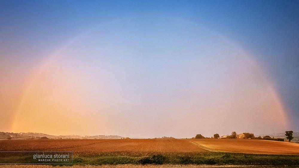 Arcobaleno dorato - Gianluca Storani Photo Art (Cod. 4-5729)