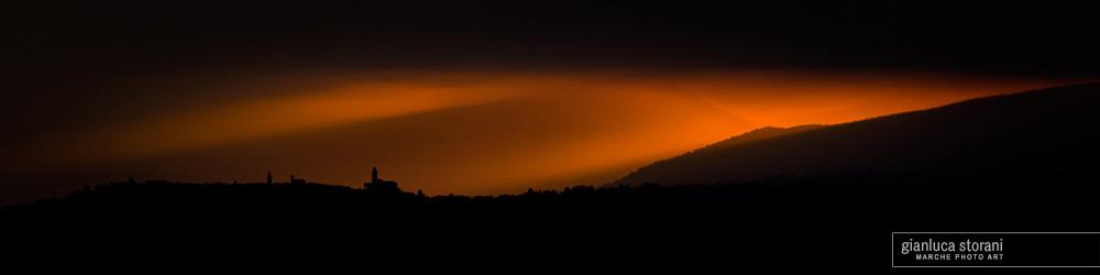 La notte incombente - Gianluca Storani Photo Art (Cod. 5-7322)