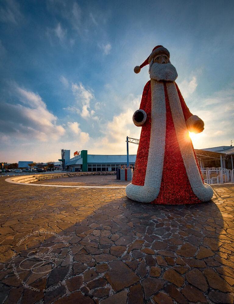 Il Babbo Natale gigante del ValdiChienti