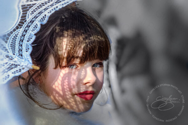 Ritratto di una giovane ragazza
