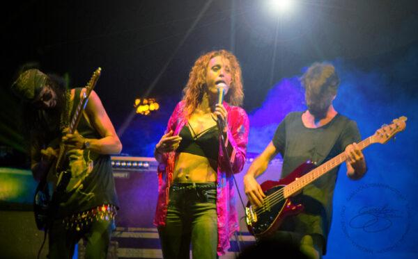 Foto da un concerto di Alteria